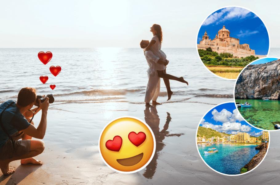 Pre wedding shoot locations in Malta & Gozo-min